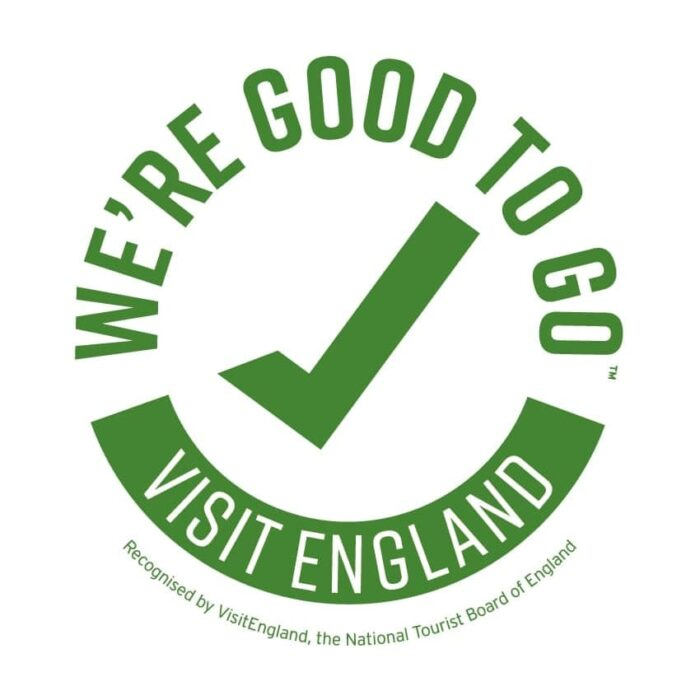 Visit England We're Good to Go badge